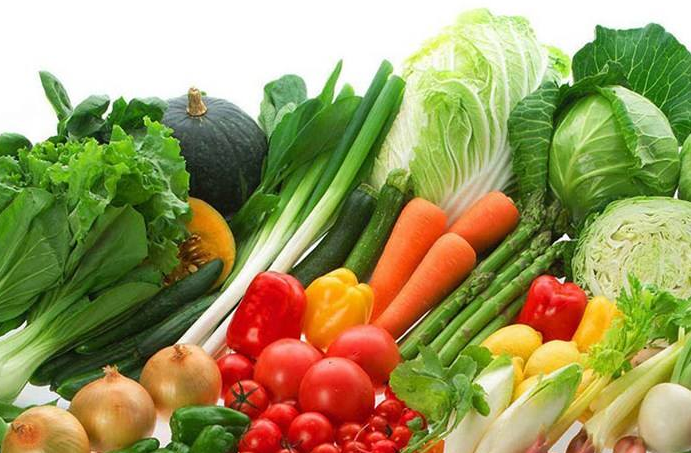 新鲜蔬菜配